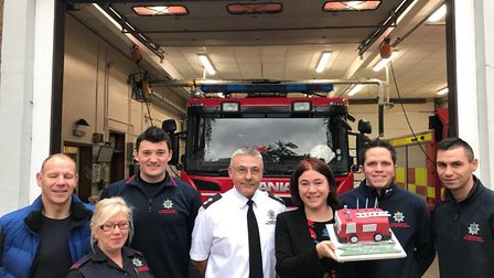 The Fire Brigade Union celebrated its 100th birthday as Cambridgeshire MEP Alex Mayer spoke of her s