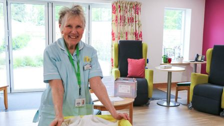 Ed Spalding, a well-loved member of staff who works across Arthur Rank Hospice's Inpatient Unit and