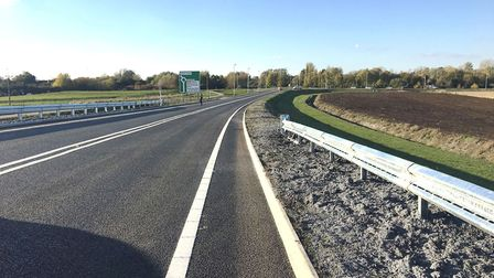 The new Ely bypass is officially open to public. Picture: CLARE BUTLER.