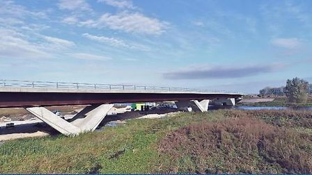 Ely bypass is officially open to the public. Picture: CAMBRIDGESHIRE COUNTY COUNCIL.