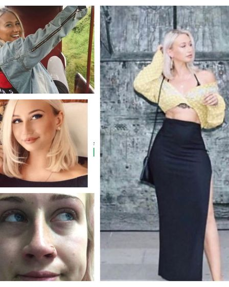 Shannon Christie, 22, who suffered a stroke from a blocked blood vessel to the brain, is raising awa