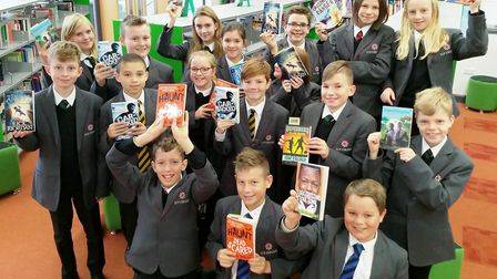 Bookbuzz free books for Ely College students encourages a passion for reading