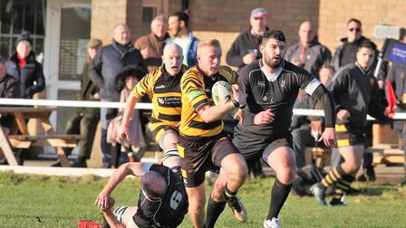 Ely narrowly lose at home against top of the league Holt. Luke Turner breaks free to score for Ely.
