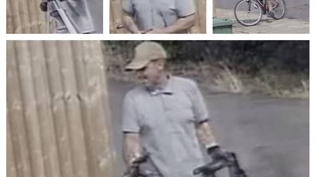 Robert Brammer, 42, was caught after officers released CCTV images of him climbing over a fence and