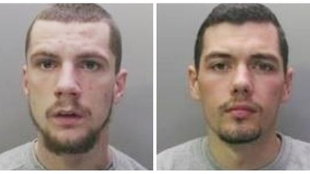 Tony Smith, from Willingham, and Charlie Oakley from Shefford, have been sentenced after being convi