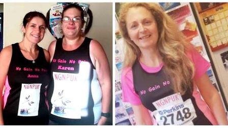 Whittlesey slimmers raise over £1,000 for charity after completing half marathon