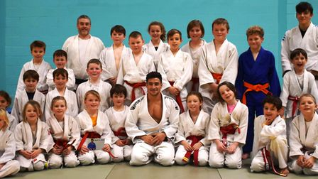 Littleport Judo Club hosting a junior masterclass with Ashley McKenzie at the weekend. Picture: STUA
