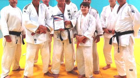 Littleport Judo Club also ran a kata training session led by high graded senior coaches Alec Edwards