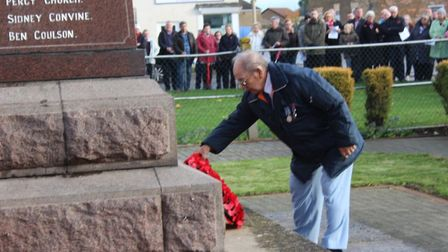 Coates remembers: In poignant and memorable moments in the village of Coates, the community - includ