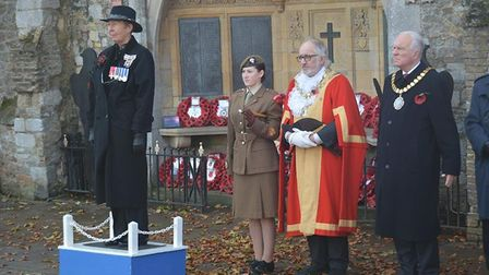 Ely remembers with a huge turn out at the cathedral for the service of Remembrance. Most observers s