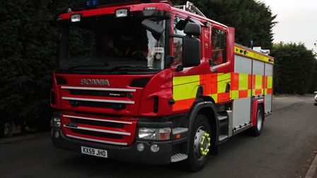 Firefighters tackled a tumble dryer blaze in March for two hours. Picture: HARRY RUTTER