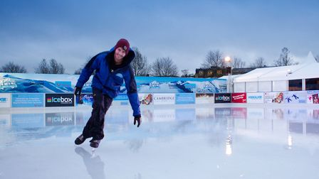 The North Pole Cambridge Ice Rink is right in the heart of Cambridgeshire