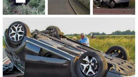 Images show some of the accidents at Boots Bridge that have prompted a major £1m replacement bridge