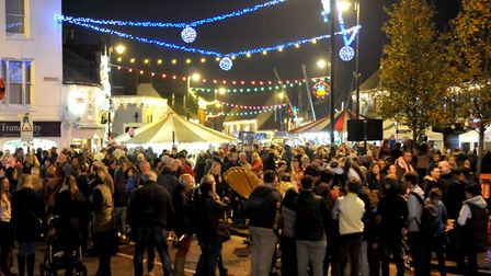 Chatteris Christmas Lights Switch on. Picture: Steve Williams.