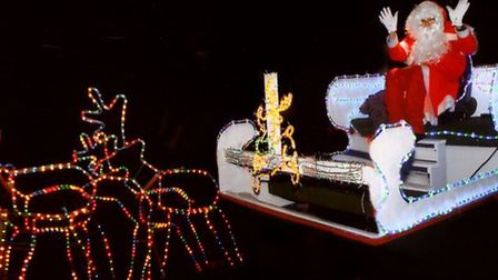 Santa is going on a tour of March, but will he be coming to your street? Picture: ARCHANT
