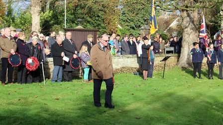 Hundreds of people, young and old, filled the grounds of St Mary's Church in Doddington for a poigna