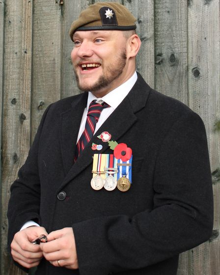 Ben Emmet, who served in the 1st Battalion Royal Anglian Regiment for eight years and grew up in Dod