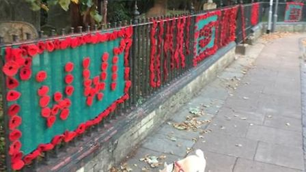 It started small – with a chat – but grew into a suggestion to create a mile of hand made poppies ah