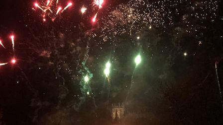 Hundreds attended Ely Fireworks 2018 as a fantastic display by Kimbolton Fireworks set alight the sk