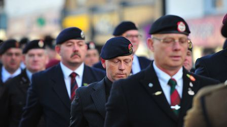 Military precision was on show in March as huge crowds lined the streets for one of biggest Remembra