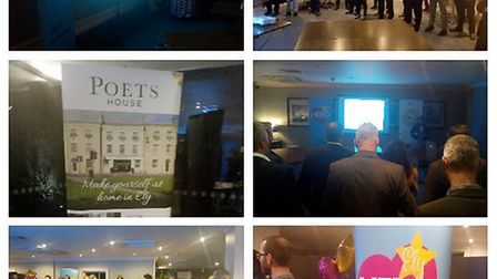 The Cambridgeshire Chamber of Commerce networking event saw businesses from across the county speak
