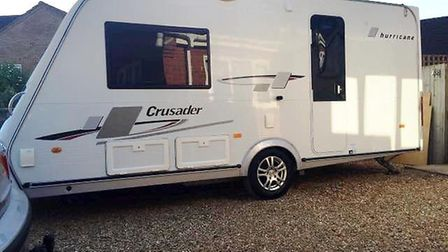 Have you seen this caravan? It was stolen from a house in Emneth on Friday evening.