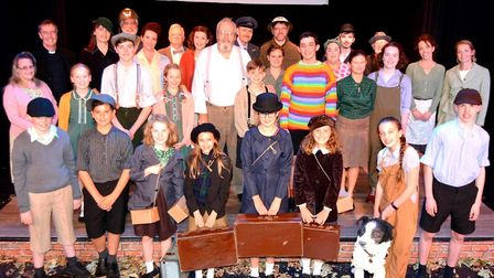 The cast of Viva's Goodnight Mister Tom on stage. Picture: MIKE ROUSE.