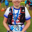 Fenland Running Club's Sarah Rippon completes the Ultra 30.