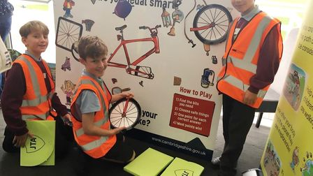 Cambridgeshire County Council organised the event which saw more than 100 10-year-olds from 15 schoo