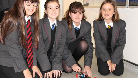 Pupils at Ely College designed and raced their own electric cars as part of the 'Tomorrow's Engineer