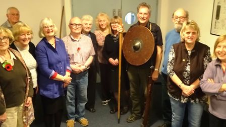 Members of The March Society enjoyed a talk by Ian Mason about 'Anglo Saxon Chatteris'