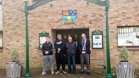 Apprentices at Stainless Metalcraft Ltd in Chatteris responded to the Town Council's request for new