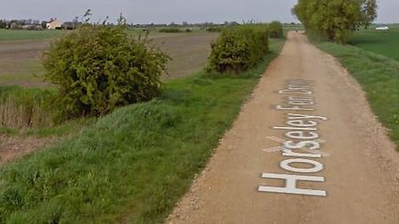 A caravan was set alight in an arson attack at Horseley Fen Drove in Chatteris on Wednesday November