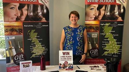 Cambridgeshire Wine School at the Ely Craft, Spirit and Wine Festival in May
