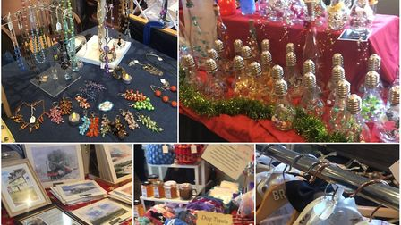 Arts, crafts and gifts fair in aid of charity brings festive spirit to March. Picture: CLARE BUTLER.