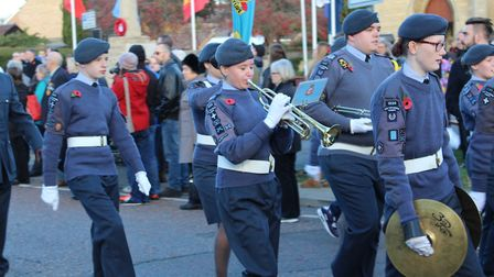 Chatteris honours the fallen with a moving parade, wreath-laying and church service on Remembrance S