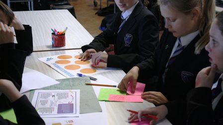More than 60 students at Witchford Village College got a taste of the creative industry at the 'Crea