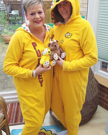 Treetops, in Lancaster Way, have raised more than £600 for Children in Need.