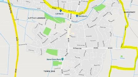 These are the areas affected by the dispersal order in March that is in place from 5pm today (Friday