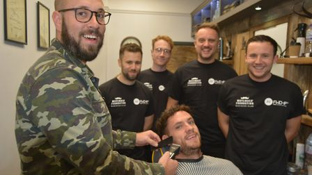 'Grow a mo, save a bro': Witchford workers from FWD-IP embrace Movember to raise cash for charity by