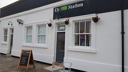 Ely railway station's new look thanks to money from Greater Anglia and the Railway Heritage Trust. P