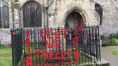 As part of the 100th anniversary of the Great War armistice, 1094 (City of Ely) Air Cadets have inst