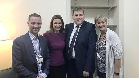 Conservative MP Lucy Frazer and Councillors Julia Huffer and Joshua Schumann met with Kit Malthouse