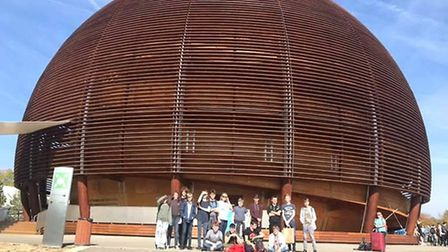 A group of Witchford Village College students enjoyed a trip to Geneva. Picture: Submitted