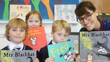 King's Ely Acremont welcomed children's author and illustrator Chloë Inkpen into school.