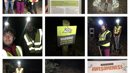 Exhilarating and nerve-racking, Go Ape's Segway at Night experience at Thetford Forest is perfect fo