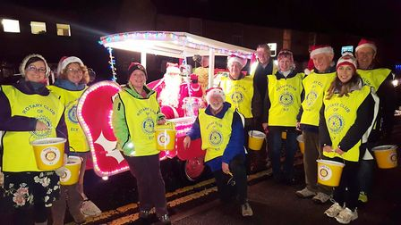 The Rotary Clubs of Ely will be touring the streets of city in the run up to Christmas with Santa an