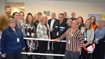 The White Ribbon campaign is launched at East Cambridgeshire District Counci, who are one of 86 orga