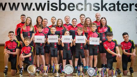 Wisbech Inline Speed Skaters are launching a new website (pic Jo Tidman)
