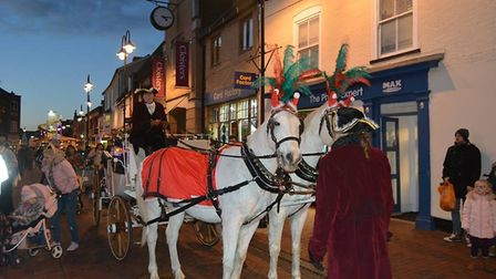 The Ely Lights are on! Thousands turned out on Friday evening to herald the start of Christmas in th